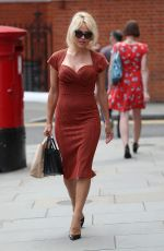 PAMELA ANDERSON Arrives at Ecuadorian Embassy in London 07/06/2017