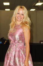 PAMELA ANDERSON at Comi-con in London 07/28/2017