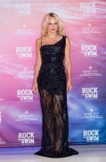 PAMELA ANDERSON at Rock My Swim Show in Paris 07/08/2017