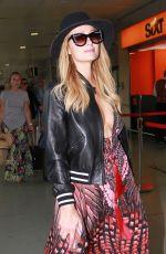 PARIS HILTON Arrives at Airport in Ibiza 07/02/2017