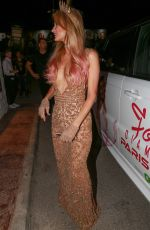 PARIS HILTON at Foam and Dimonds Opening Party in Ibiza 07/02/2017