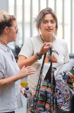 PARIS JACKSON at JFK Airport in New York 07/21/2017