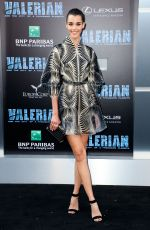 PAULINE HOARAU at Valerian and the City of a Thousand Planets Premiere in Hollywood 07/17/2017
