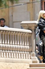 PENELOPE CRUZ on the Set of Versace: American Crime Story in Los Angeles 07/11/2017