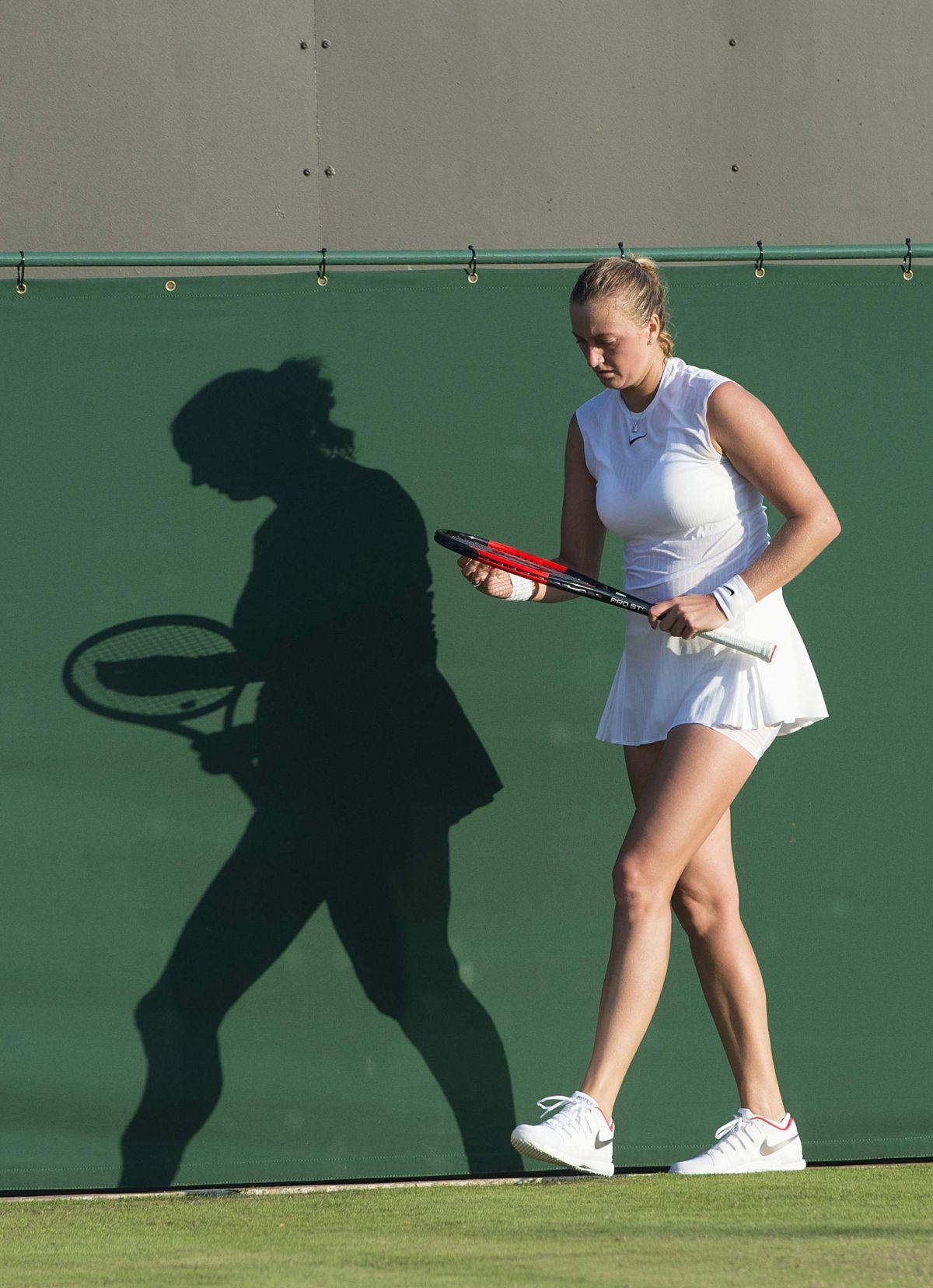 PETRA KVITOVA at Wimbledon Championships 07/04/2017