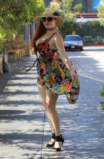 PHOEBE PRICE Out in Beverly Hills 07/07/2017