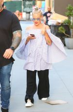 PINK Arrives at Allouche Gallery in New York 07/05/2017