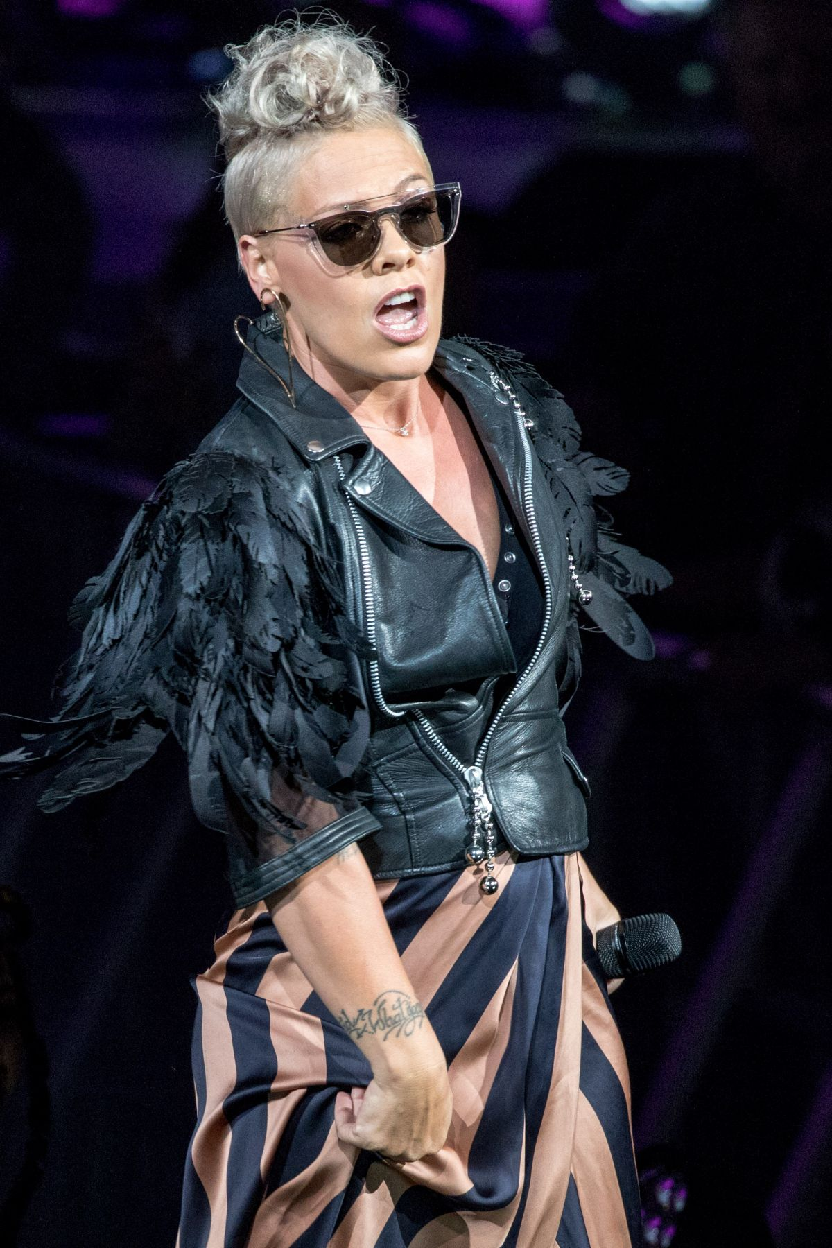 PINK Performs at Summerfest Music Festival 2017 in Milwaukee 07/01/2017