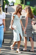 PIPPA MIDDLETON Arrives at Wimbledon in London 07/10/2017