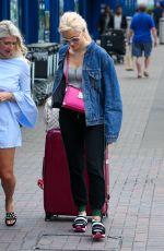 PIXIE LOTT Arrives at London City Airport 07/19/2017