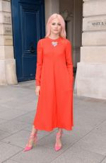PIXIE LOTT at Schiaparelli Fashion Show at Paris Fashion Week 07/03/2017