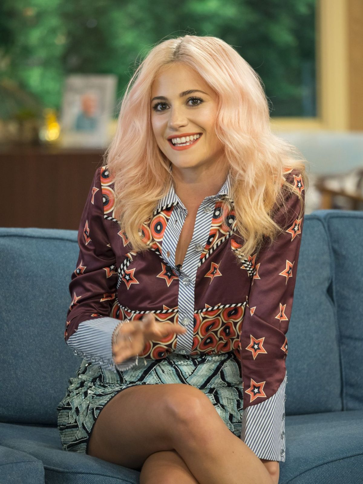 PIXIE LOTT at This Morning TV Show in London 07/12/2017