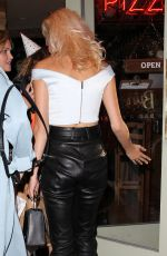 PIXIE LOTT Night Out in Covent Garden 07/29/2017