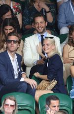 POPPY DELEVINGNE at Wimbledon Tennis Championships in London 07/10/2017