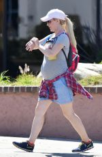 Pregnant HEIDI MONTAG Out in Pacific Palisades 07/04/2017