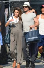 Pregnant NIKKI REED and Ian Somerhalder Out Shooping in Los Angele 07/09/2017