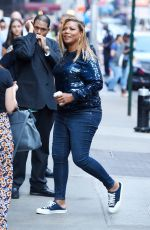 QUEEN LATIFAH Arrives at Good Morning America in New York 07/20/2017
