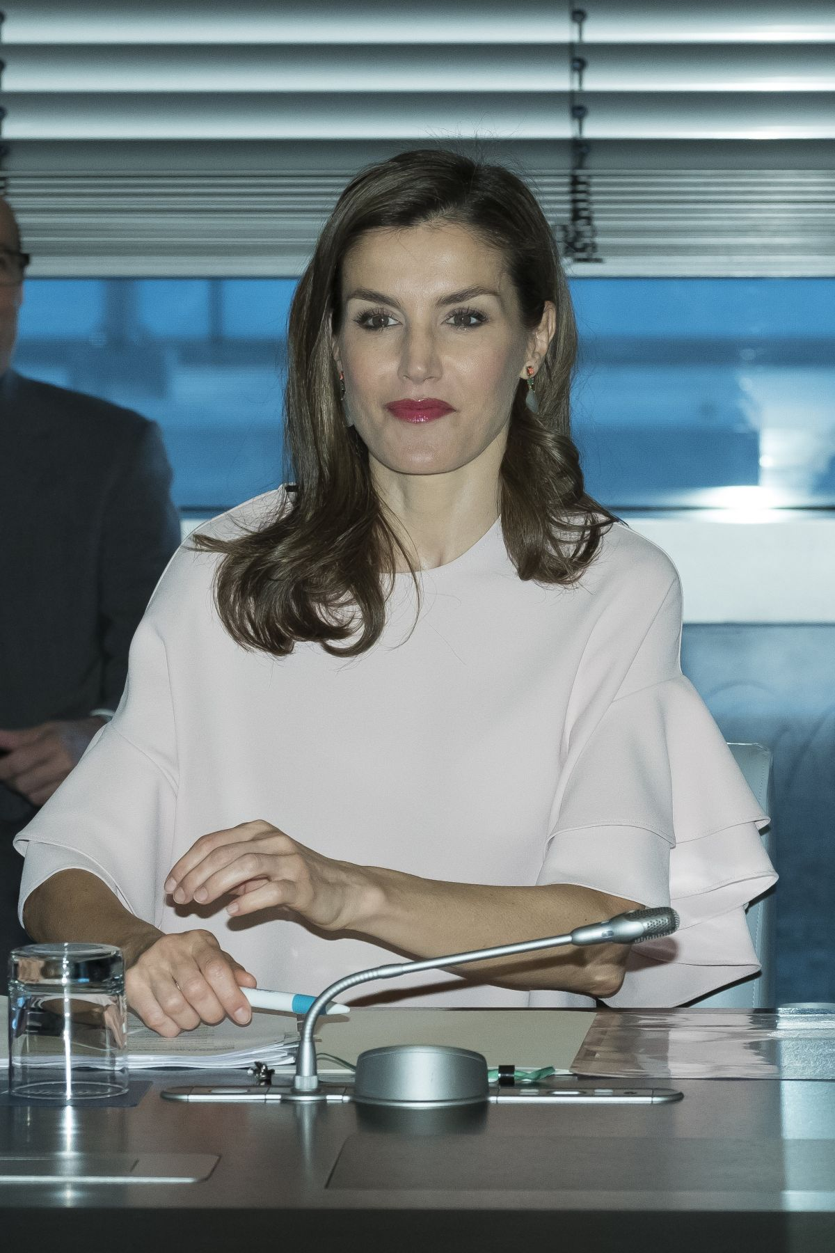 QUEEN LETIZIA OF SPAIN at Foundation of Aid Against Drug Addiction ...