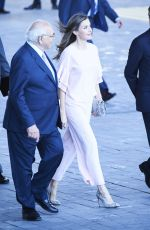 QUEEN LETIZIA OF SPAIN at Foundation of Aid Against Drug Addiction Meeting in Madrid 07/04/2017