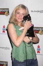 RACHEL BAY JONES at 19th Annual Broadway Barks Animal Adoption Event in New York 07/08/2017