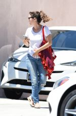 RACHEL BILSON Out for Lunch in Los Angeles 07/20/2017