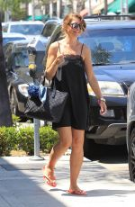 REBECCA GAYHEART Out in Beverly Hills 07/08/2017