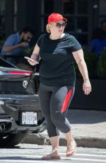 REBEL WILSON Out and About in New York 06/27/2017
