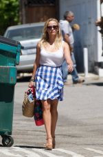REESE WITHERSPOON Heading to a Spa in Los Angeles 07/27/2017