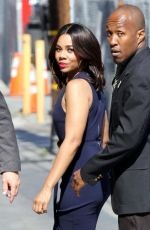 REGINA HALL Arrives at Jimmy Kimmel Live in Hollywood 07/10/2017
