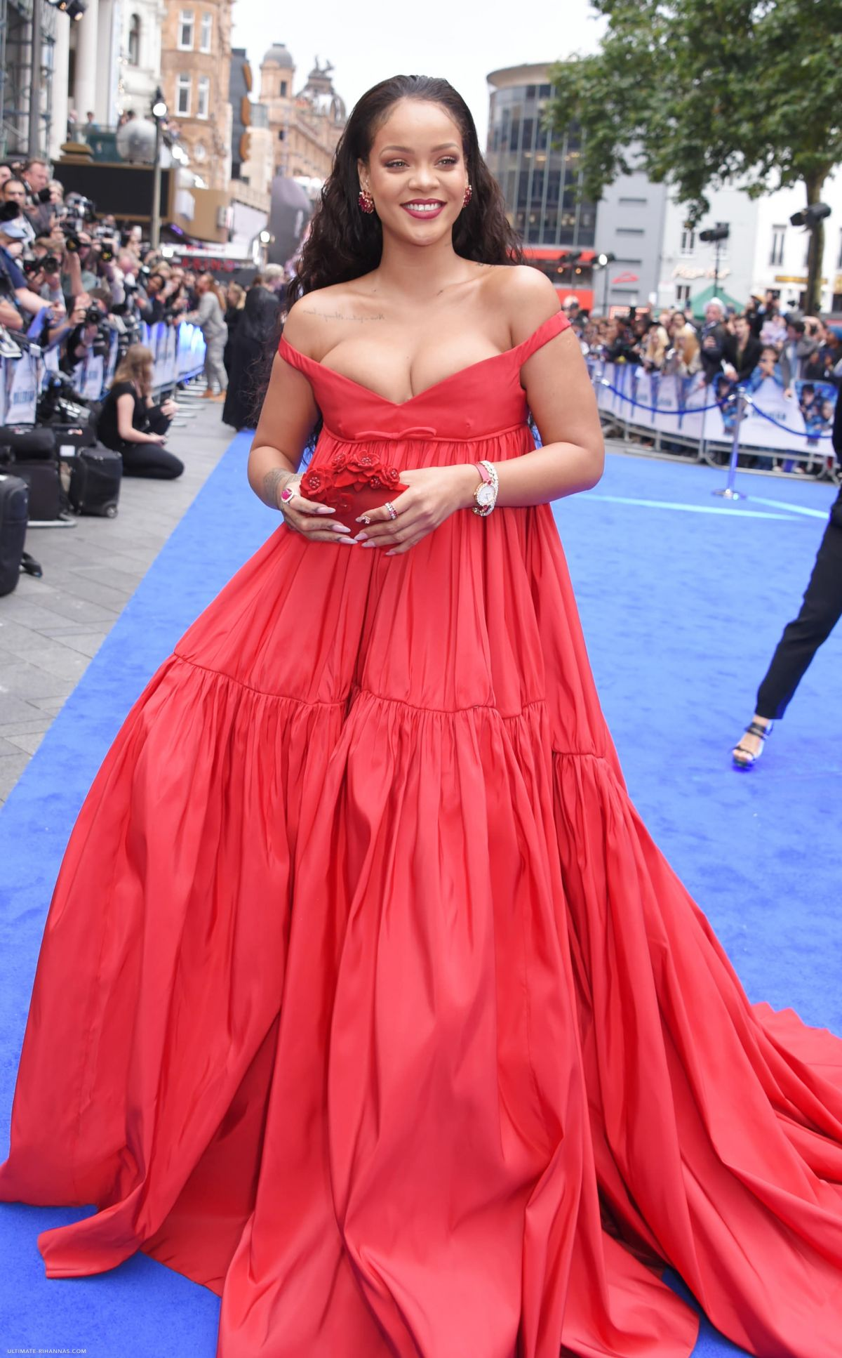RIHANNA at Valerian and the City of a Thousand Planets ...