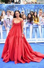 RIHANNA at Valerian and the City of a Thousand Planets Premiere in London 07/24/2017