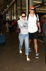 RILEY KEOUGH at LAX Airport in Los Angeles 07/13/2017