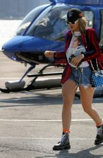 RITA ORA at a Heliport in New York 07/16/2017