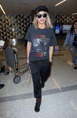 RITA ORA at LAX Airport in Los Angeles 07/11/2017
