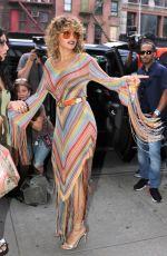 RITA ORA Leaves Bowery Hotel in New York 07/17/2017