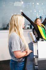 RITA ORA on Air with Ryan Seacrest in Los Angeles 07/13/2017