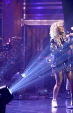 RITA ORA Performs at Tonight Show Starring Jimmy Fallon in New York 07/18/2017