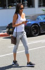 ROCHELLE AYTES Out in Beverly Hills 07/08/2017