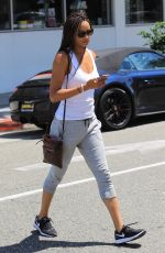 ROCHELLE AYTES Out in Beverly Hills 07/08/2017 ...