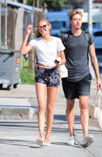 ROMEE STRIJD Heading to a Gym in New York 07/05/2017