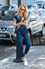 ROMEE STRIJD Out and About in New York 06/28/2017