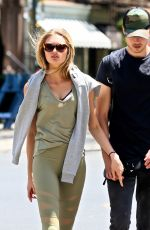 ROMEE STRIJD Out with Her Boyfriend in New York 07/05/2017