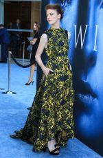 ROSE LESLIE at Game of Thrones Season 7 Premiere in Los Angeles 07/12/2017