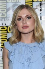 ROSE MCIVER at Izombie Panel at Comic-con in San Diego 07/21/2017