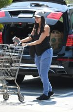 ROSELYN SANCHEZ Shopping at Whole Foods in Beverly Hills 07/05/2017