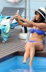 ROXANE PALLETT in Bikini at a Pool in Mykonos 07/12/2017