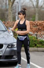 ROXANNE PALLETT Leaves a Gym in Manchester 07/03/2017