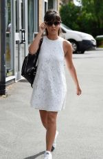 ROXANNE PALLETT Leaves Cuthberts Hairdressing and Beauty Salon in Manchester 07/19/2017