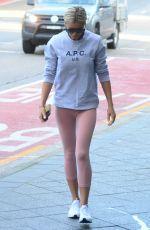 ROXY JACENKO Arrives at a Gym in Sydney 07/04/2017