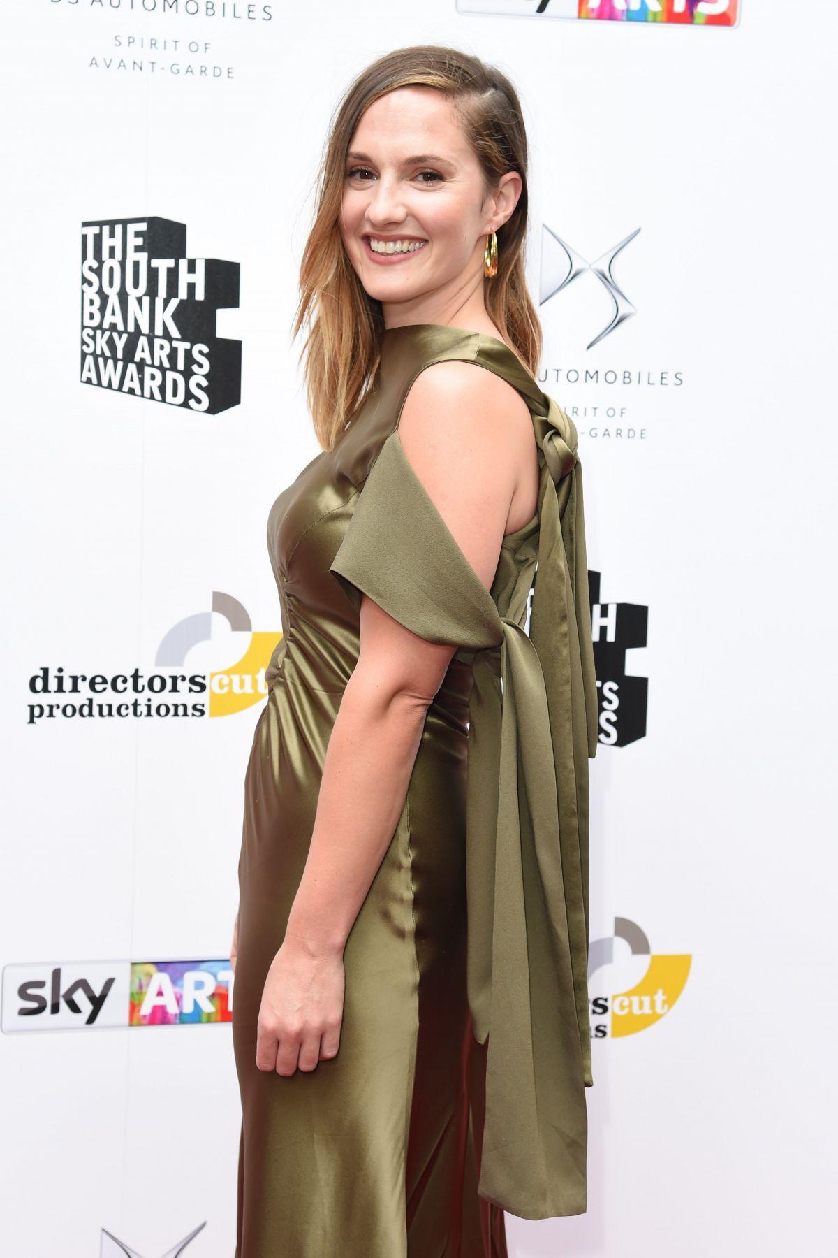 RUTH BRADLEY at South Bank Sky Arts Awards in London 07/09/2017